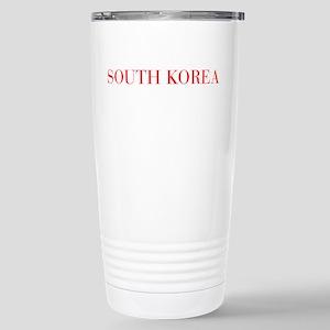 South Korea-Bau red 400 Travel Mug
