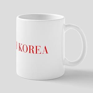 South Korea-Bau red 400 Mugs