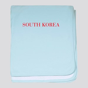South Korea-Bau red 400 baby blanket