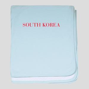 South Korea-Bau red 400 baby blanket