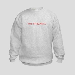 South Korea-Bau red 400 Sweatshirt