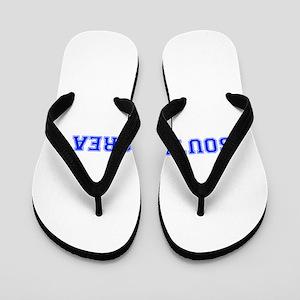 South Korea-Var blue 400 Flip Flops