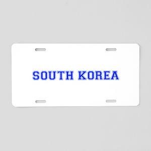 South Korea-Var blue 400 Aluminum License Plate