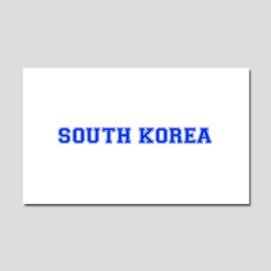 South Korea-Var blue 400 Car Magnet 20 x 12