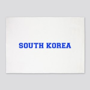 South Korea-Var blue 400 5'x7'Area Rug