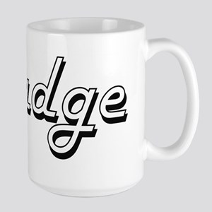 Judge Classic Job Design Mugs