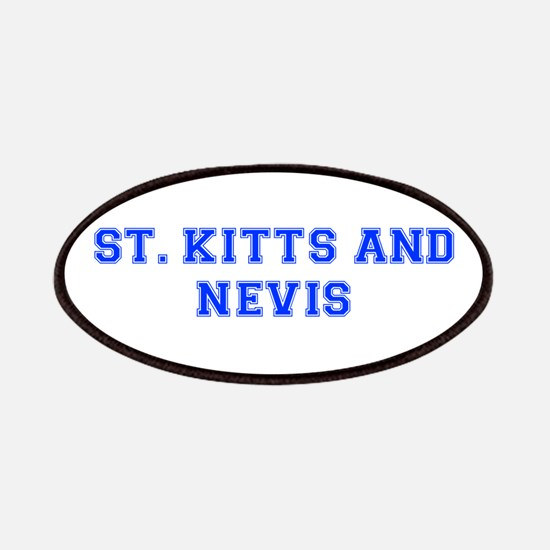 St Kitts and Nevis-Var blue 400 Patch