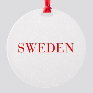 Sweden-Bau red 400 Ornament