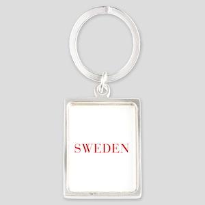 Sweden-Bau red 400 Keychains