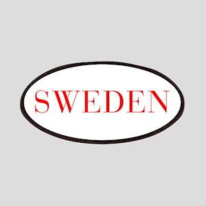 Sweden-Bau red 400 Patch