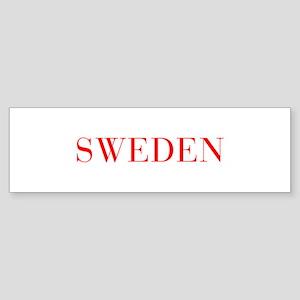 Sweden-Bau red 400 Bumper Sticker