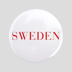 """Sweden-Bau red 400 3.5"""" Button"""