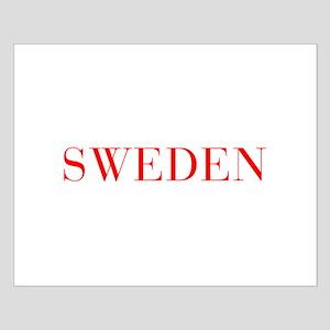 Sweden-Bau red 400 Posters
