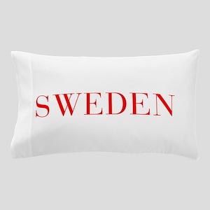 Sweden-Bau red 400 Pillow Case