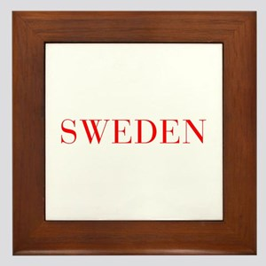 Sweden-Bau red 400 Framed Tile