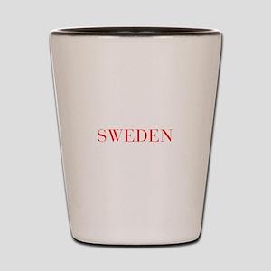 Sweden-Bau red 400 Shot Glass