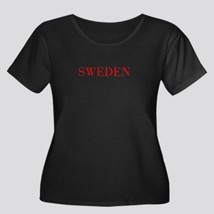 Sweden-Bau red 400 Plus Size T-Shirt