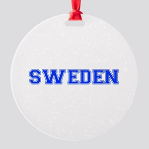 Sweden-Var blue 400 Ornament