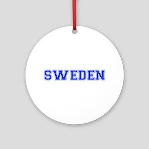 Sweden-Var blue 400 Ornament (Round)