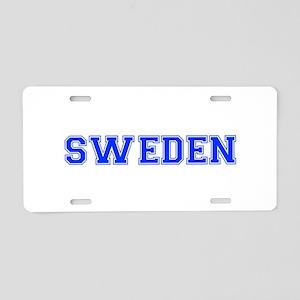 Sweden-Var blue 400 Aluminum License Plate