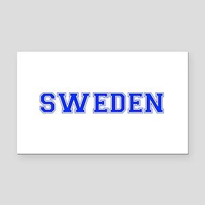 Sweden-Var blue 400 Rectangle Car Magnet