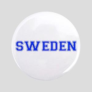 "Sweden-Var blue 400 3.5"" Button"