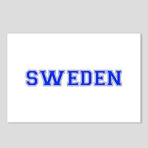 Sweden-Var blue 400 Postcards (Package of 8)