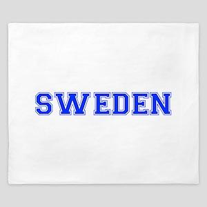 Sweden-Var blue 400 King Duvet