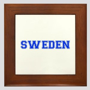 Sweden-Var blue 400 Framed Tile