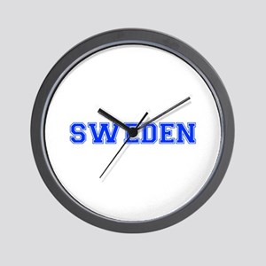 Sweden-Var blue 400 Wall Clock
