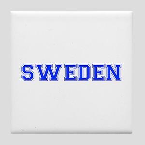 Sweden-Var blue 400 Tile Coaster