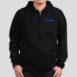 Sweden-Var blue 400 Zip Hoodie