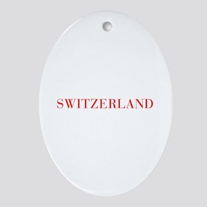 Switzerland-Bau red 400 Ornament (Oval)