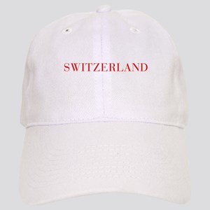 Switzerland-Bau red 400 Baseball Cap
