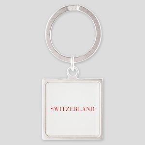 Switzerland-Bau red 400 Keychains