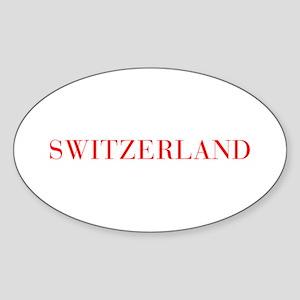 Switzerland-Bau red 400 Sticker