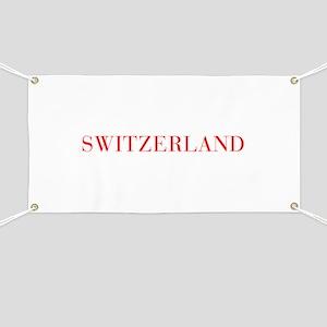 Switzerland-Bau red 400 Banner