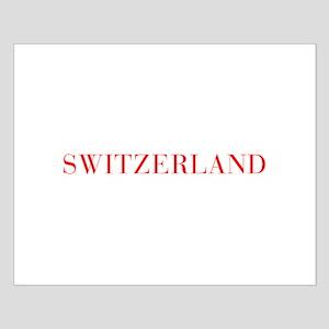 Switzerland-Bau red 400 Posters