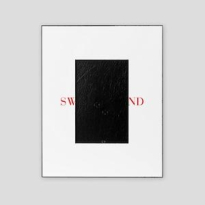 Switzerland-Bau red 400 Picture Frame