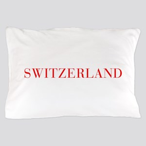 Switzerland-Bau red 400 Pillow Case