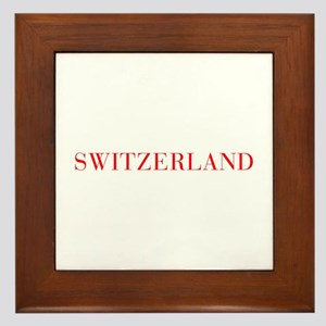 Switzerland-Bau red 400 Framed Tile