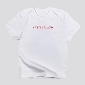 Switzerland-Bau red 400 Infant T-Shirt