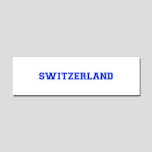 Switzerland-Var blue 400 Car Magnet 10 x 3