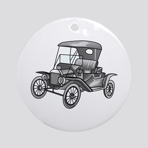 MODEL T CAR Ornament (Round)