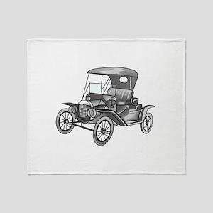 MODEL T CAR Throw Blanket
