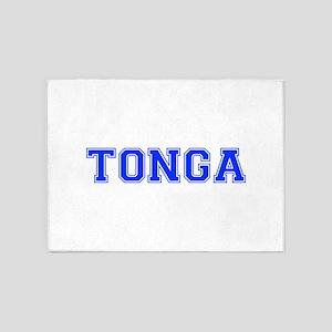 Tonga-Var blue 400 5'x7'Area Rug