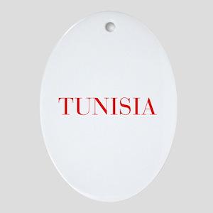 Tunisia-Bau red 400 Ornament (Oval)
