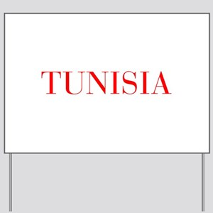 Tunisia-Bau red 400 Yard Sign