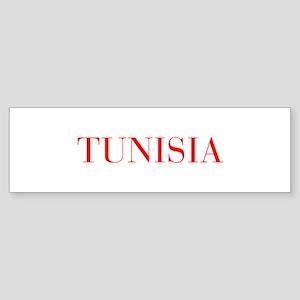 Tunisia-Bau red 400 Bumper Sticker