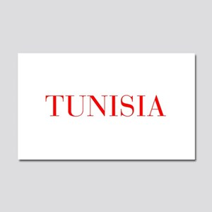 Tunisia-Bau red 400 Car Magnet 20 x 12